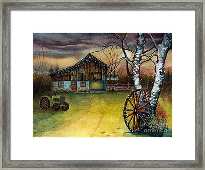 Twilight Hour Framed Print