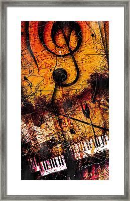 Twilight In E Minor Framed Print by Gary Bodnar