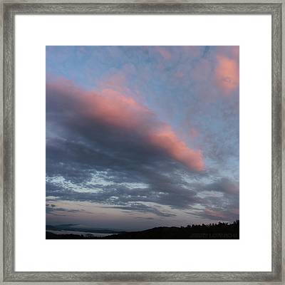 Twilight In The Wilderness Framed Print by Jerry LoFaro