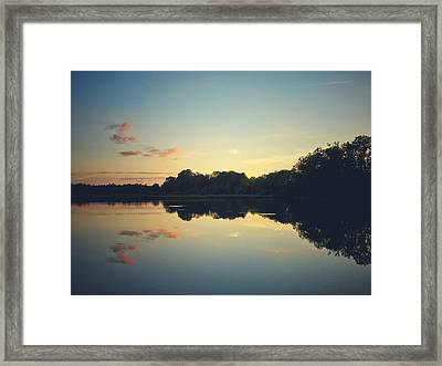 Framed Print featuring the photograph Twilight by Karen Stahlros