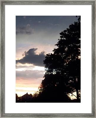Twilight Landscape Framed Print by Eric  Schiabor