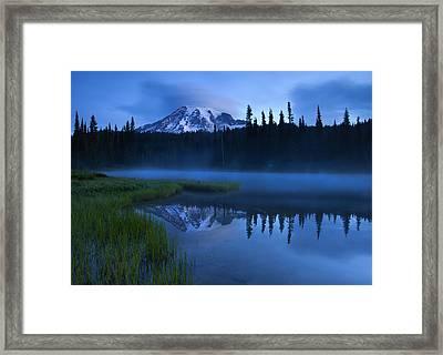 Twilight Majesty Framed Print by Mike  Dawson