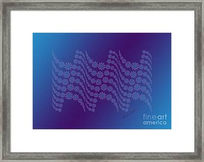 Twilight Ocean Framed Print