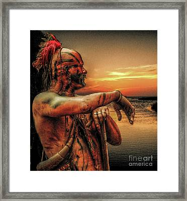Twilight Of Empire Framed Print by Randy Steele