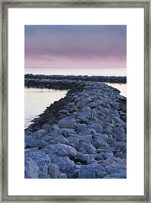 Twilight Of The Day Framed Print