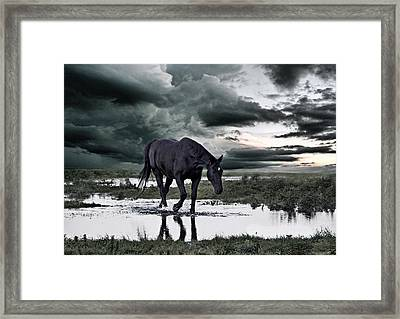 Twilight Of The Gods Framed Print by Joachim G Pinkawa