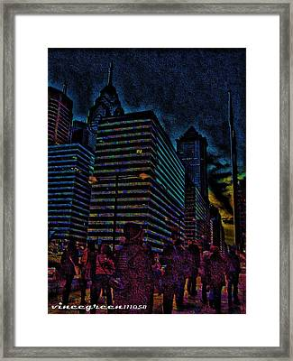 Twilight Of Uncertainty Framed Print