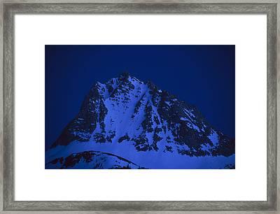 Twilight On Hurd Peak Framed Print