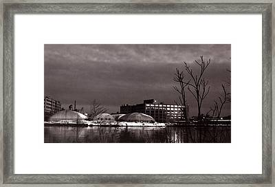 Twilight On The Other Side Framed Print by Andrea Simon