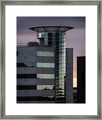Twilight Reflection - Radisson Plaza Hotel Framed Print