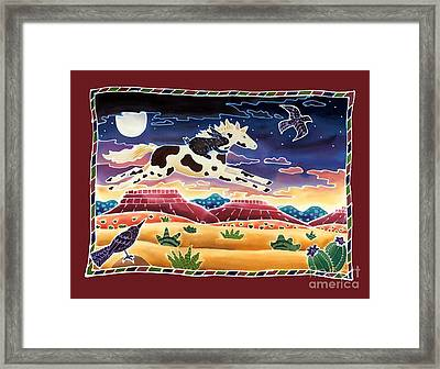 Twilight Ride Framed Print by Harriet Peck Taylor