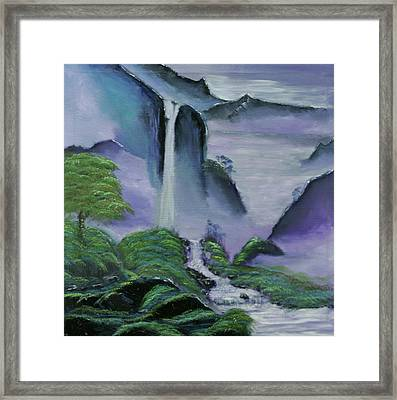 Twilight Framed Print by Robin Lee