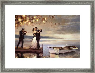 Twilight Romance Framed Print by Steve Henderson