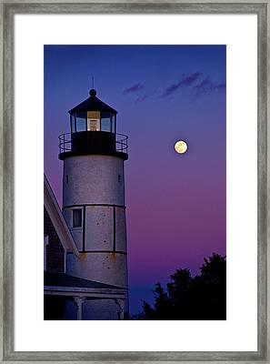 Twilight Sandy Neck Framed Print