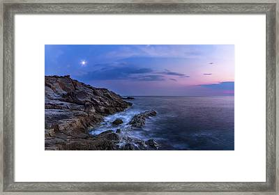 Twilight Sea Framed Print by Matteo Viviani