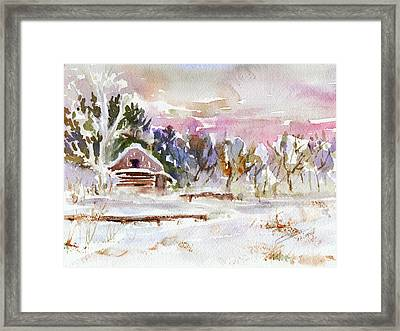 Twilight Serenade I Framed Print