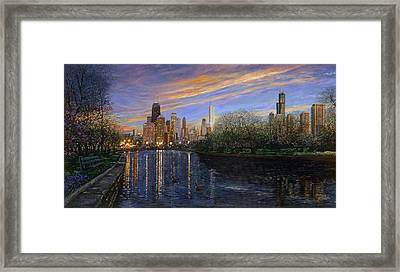 Twilight Serenity Framed Print by Doug Kreuger