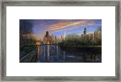 Twilight Serenity Framed Print by Doug Kreuger