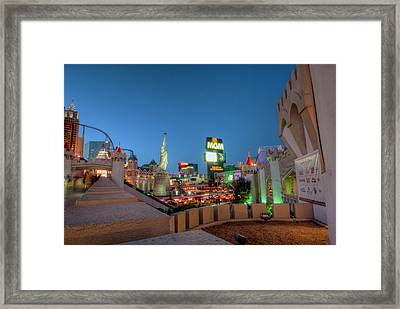 Twilight Framed Print by Stephen Campbell