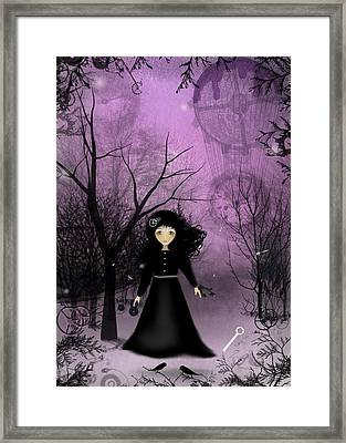 Twilight Time Framed Print by Charlene Zatloukal