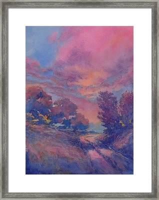 Twilight Time No 2 Framed Print by Virgil Carter