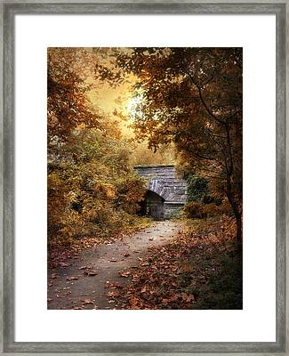 Twilight Trail Framed Print by Jessica Jenney