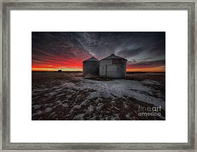Twilight Twins Framed Print by Ian McGregor