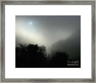 Twilight Valley Of The Moon California Framed Print by Gus McCrea