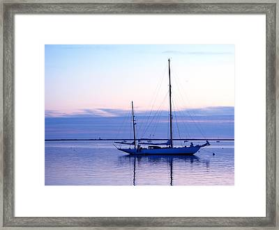 Twilight Voyage Framed Print