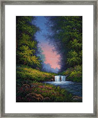 Twilight Whisper Framed Print by Kyle Wood