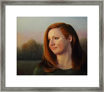 Twilight's Approach Framed Print by Glenn Beasley