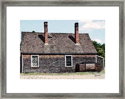 Twin Chimneys Framed Print by RC DeWinter