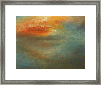 Twin Flame Framed Print by Jane See