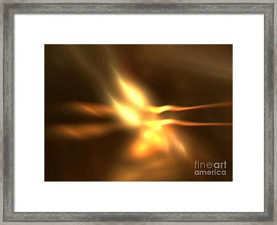 Twin Flame Framed Print