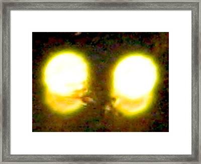 Twin Lights Framed Print by Stephen Hawks