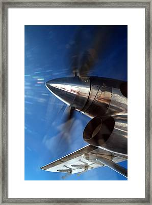 Twin Otter  Framed Print by Richard Steinberger