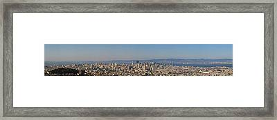 Twin Peaks City View Framed Print by Paul Owen
