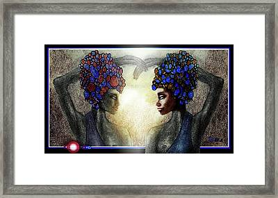 Twin Sisters Framed Print by Hartmut Jager