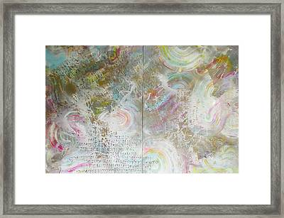 Twin Spica Framed Print