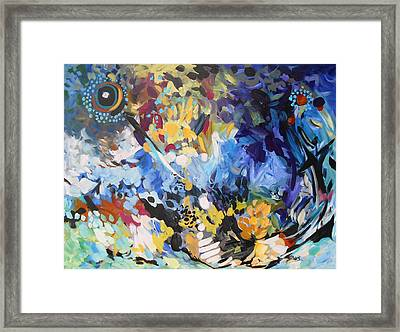 Twin Suns Framed Print by Karen Gines