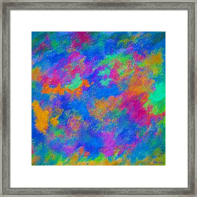Twin Talisman Framed Print
