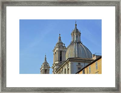 Twin Towers Framed Print by JAMART Photography