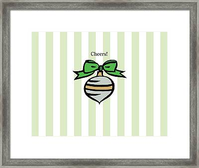 Twinkle In Green Framed Print by Patti Britton