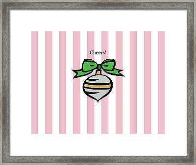 Twinkle In Pink Framed Print by Patti Britton