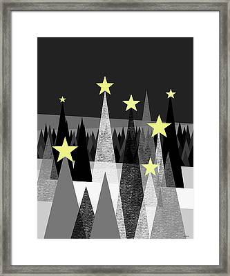 Twinkle Night Framed Print