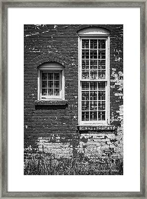 Twins - Bw Framed Print by Christopher Holmes