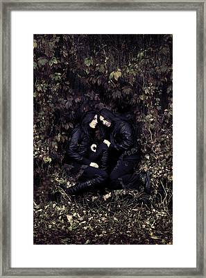 Twins Framed Print by Cambion Art