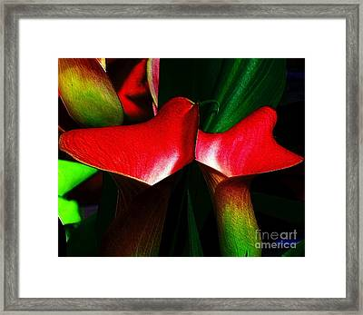 Framed Print featuring the photograph Twins by Elfriede Fulda
