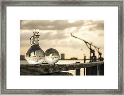 Twins Framed Print by Karl Mahnke