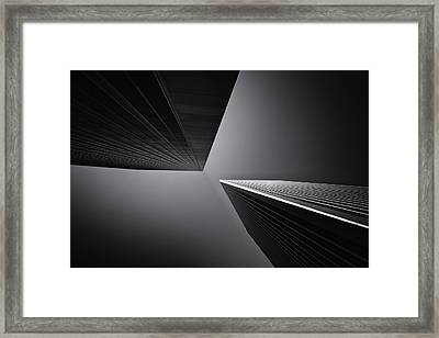 Twins Framed Print by Michael Hope